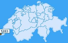 PLZ 1283 Schweiz
