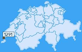 PLZ 1291 Schweiz
