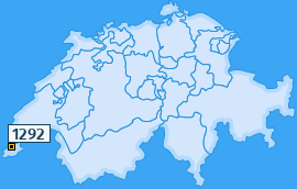 PLZ 1292 Schweiz