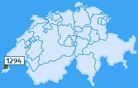 PLZ 1294 Schweiz