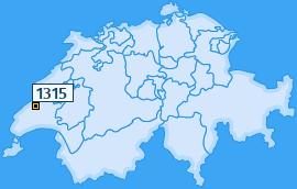 PLZ 1315 Schweiz