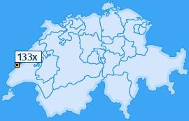 PLZ 133 Schweiz