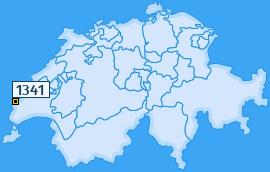 PLZ 1341 Schweiz