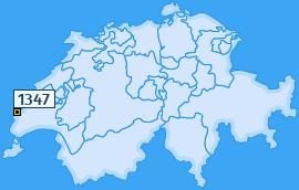 PLZ 1347 Schweiz