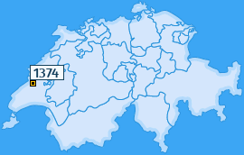 PLZ 1374 Schweiz