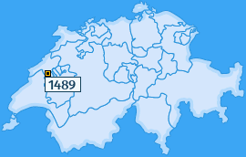PLZ 1489 Schweiz