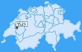 PLZ 1523 Schweiz