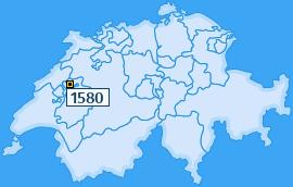 PLZ 1580 Schweiz