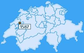 PLZ 1587 Schweiz