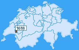 PLZ 1618 Schweiz