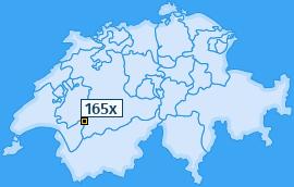 PLZ 165 Schweiz