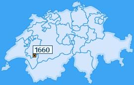 PLZ 1660 Schweiz
