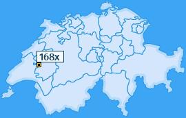 PLZ 168 Schweiz