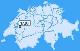 PLZ 1728 Schweiz