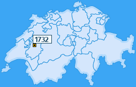 PLZ 1732 Schweiz