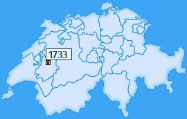 PLZ 1733 Schweiz