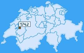 PLZ 1742 Schweiz