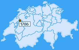 PLZ 1786 Schweiz