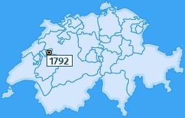 PLZ 1792 Schweiz
