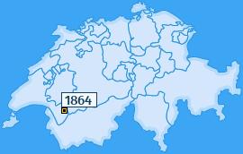 PLZ 1864 Schweiz