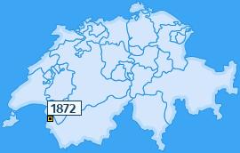 PLZ 1872 Schweiz