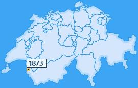PLZ 1873 Schweiz