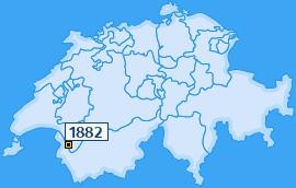 PLZ 1882 Schweiz