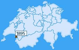 PLZ 1895 Schweiz