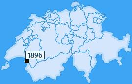 PLZ 1896 Schweiz