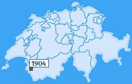 PLZ 1904 Schweiz