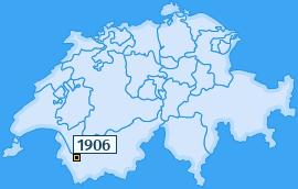 PLZ 1906 Schweiz