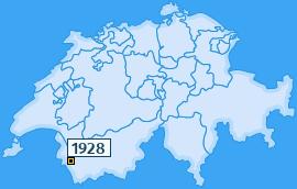 PLZ 1928 Schweiz