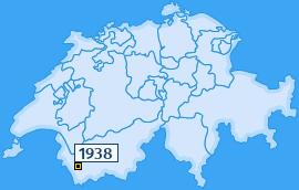 PLZ 1938 Schweiz
