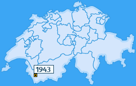 PLZ 1943 Schweiz