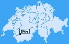 PLZ 1964 Schweiz