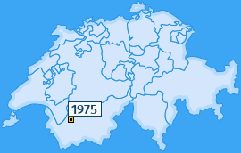 PLZ 1975 Schweiz