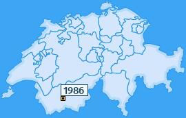 PLZ 1986 Schweiz