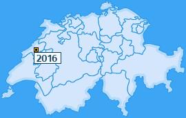 PLZ 2016 Schweiz