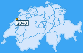PLZ 2043 Schweiz