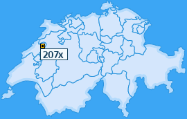 PLZ 207 Schweiz
