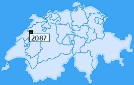 PLZ 2087 Schweiz