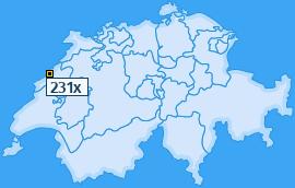 PLZ 231 Schweiz