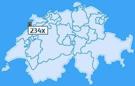 PLZ 234 Schweiz