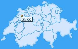 PLZ 25 Schweiz