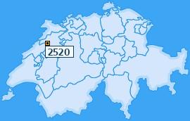 PLZ 2520 Schweiz
