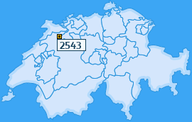 PLZ 2543 Schweiz