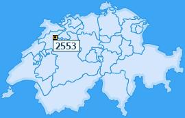 PLZ 2553 Schweiz