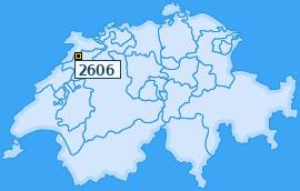 PLZ 2606 Schweiz