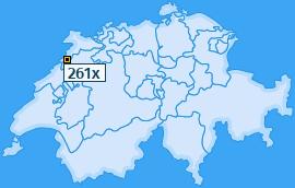 PLZ 261 Schweiz
