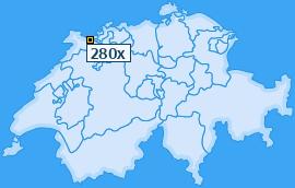 PLZ 280 Schweiz